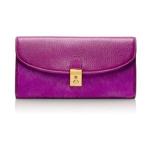 Tory Burch Priscilla Calf Hair Wallet